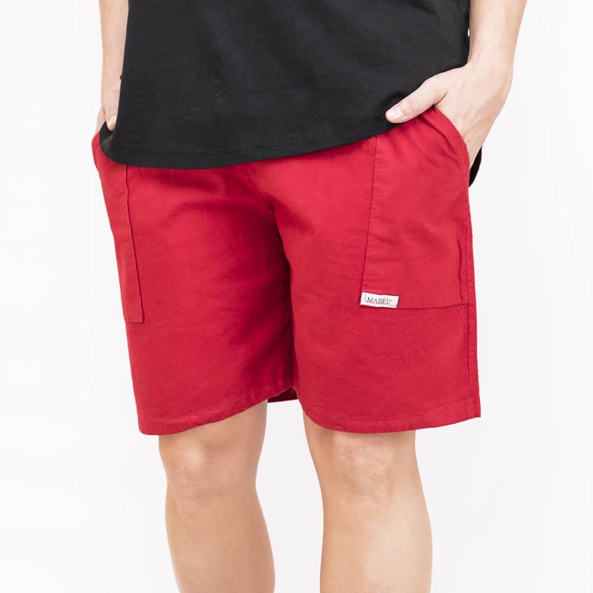 nuevo producto b13bd 668df pantalón corto algodón 9002-09 Rojo – Confecciones Mabel